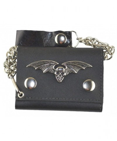 MM Flying Leather Trifold Wallet