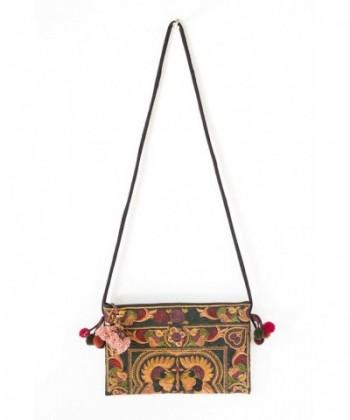 Changnoi Mocha Tribe Crossbody Embroidered