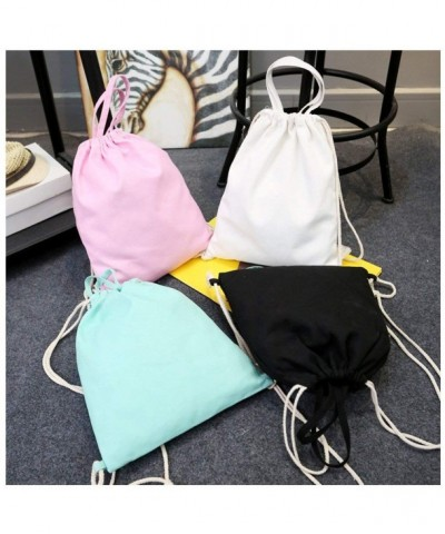 iToolai Canvas Drawstring Backpack Assorted