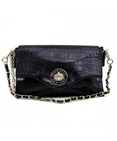 Classic Fashion Textured Twist lock Detachable