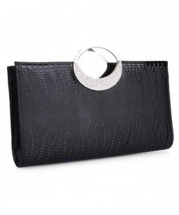 Evening Rhinestone Leather Handbag Wedding