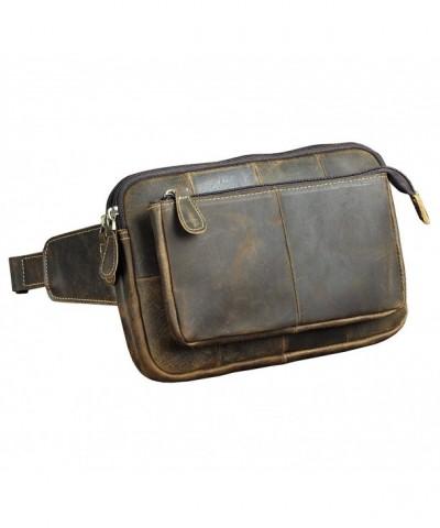 Leaokuu Genuine Leather Travel Sport
