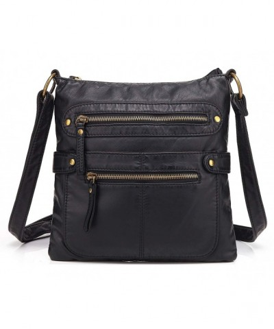 Scarleton Casual Double Zipper Crossbody