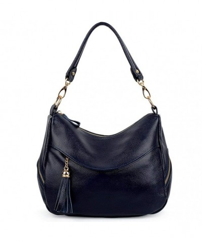 YALUXE Pockets Leather Crossbody Shoulder