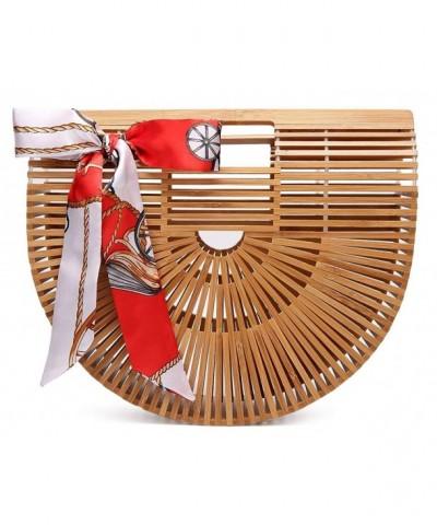 Obosoyo Womens Handmade Bamboo Handbag