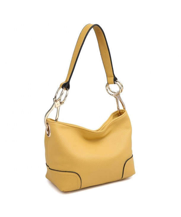 4801a9a867 Classic Large Hobo Shoulder Bag Women Tote Purse Ladies Handbag PU ...