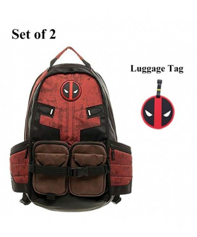 Deadpool Backpack Laptop Outdoor Sports