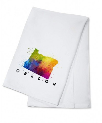 Oregon Abstract Watercolor Cotton Kitchen