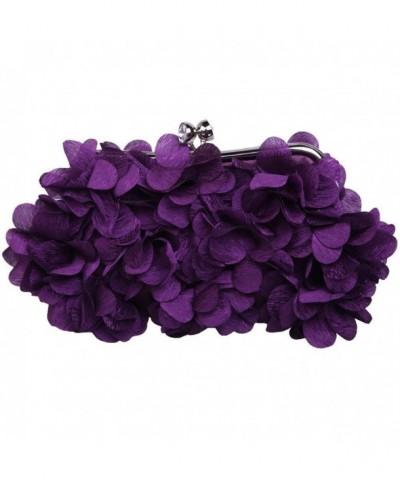 Chryssa Youree Womens Handbag Flower