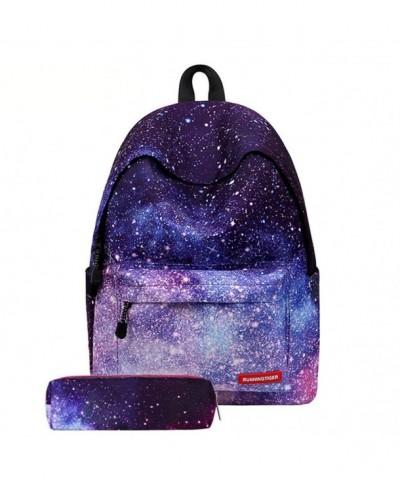 Students Compartment Backpack Shoulder Rucksack