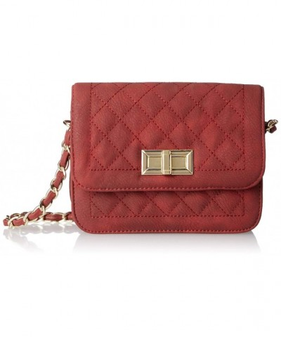 MG Collection Rosa Quilted Satchel