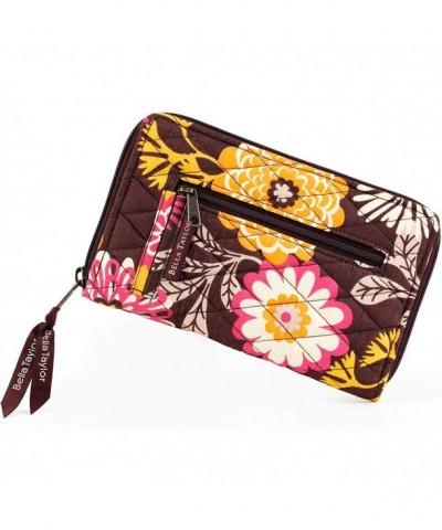 Bella Taylor Cocoa Fleur Wallet