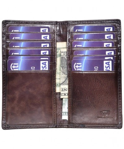 Vintage Genuine Leather Pocket Wallet