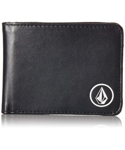 Volcom Mens Corps Wallet Black