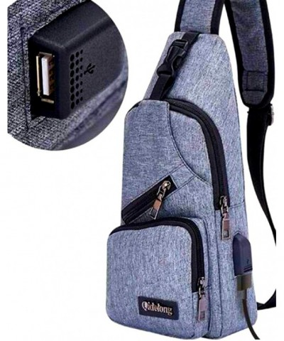 Inclined Shoulder Backpack Charging Interface