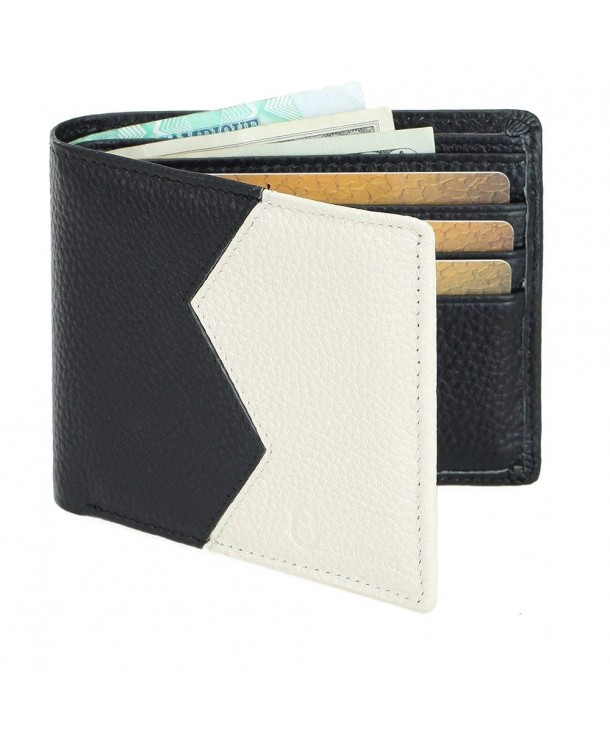8Sanlione Wallet Genuine Leather Blocking
