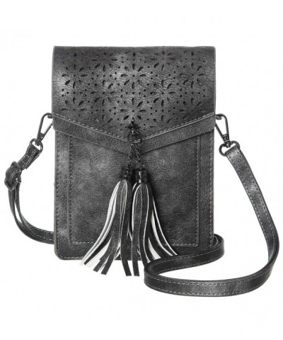 MINICAT Tassel Thicher Crossbody Silver Gray
