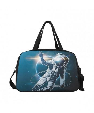 InterestPrint Astronaut Duffel Handbag Luggage