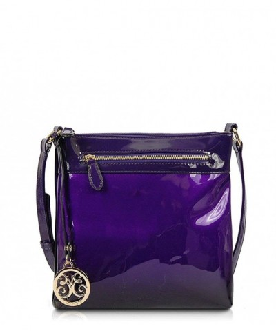 Jodie Patent Ombre Cross Body