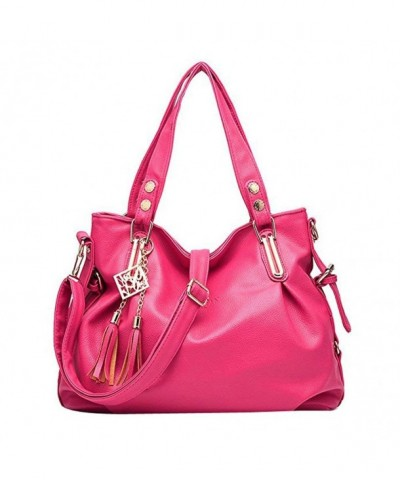 Donalworld Casual Leather Designer Handbag