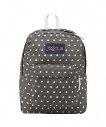 JanSport Backpack Shady Grey White