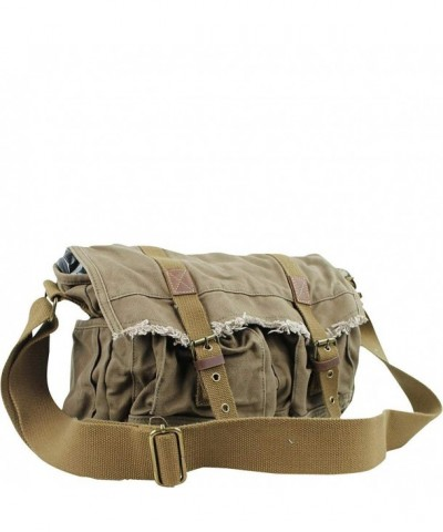 Vagabond Traveler Vintage Messenger Military