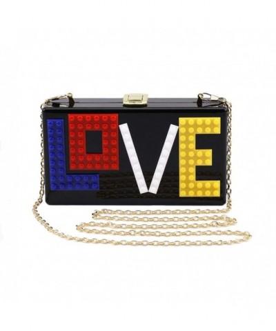 Angelliu Rectangular Acrylic Evening Handbag
