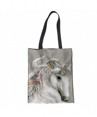 CuMagical Unicorn Canvas Shopping Handbag