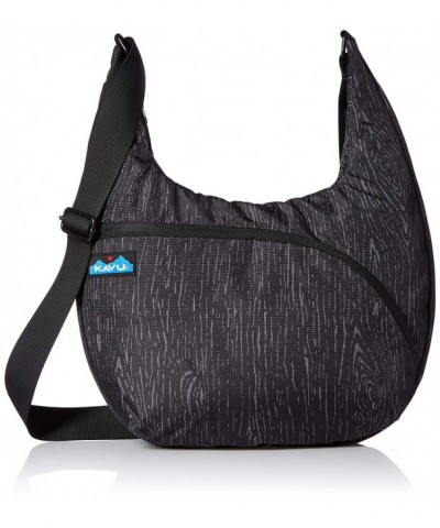 KAVU Womens Singapore Satchel Black