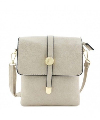 Small Flap Top Crossbody Sand