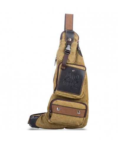 Tanchen Unbalance Backpack Crossbody Shoulder