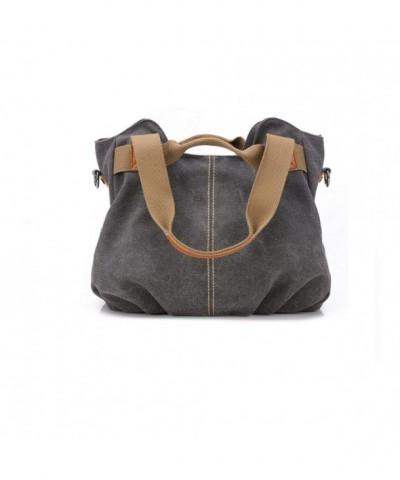 Vintage Mulit Pocket Shoulder Shopper Handbags