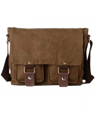Messenger Vintage Shoulder Bookbag Satchel