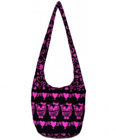 Owl Bohemian Shoulder Crossbody Heart