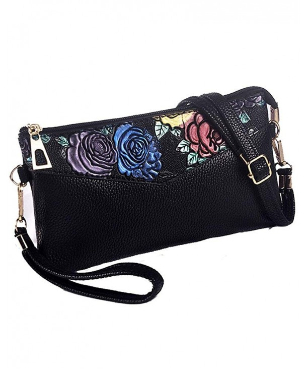 Womens Leather Organizer Handbag pattern2