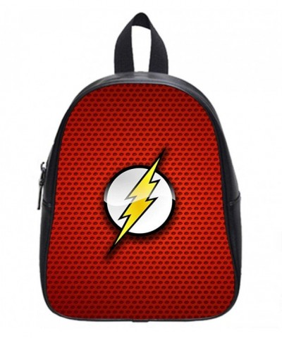 High Grade Leather Backpack Flash Print Large