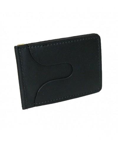 CTM Leather Money Holder Black
