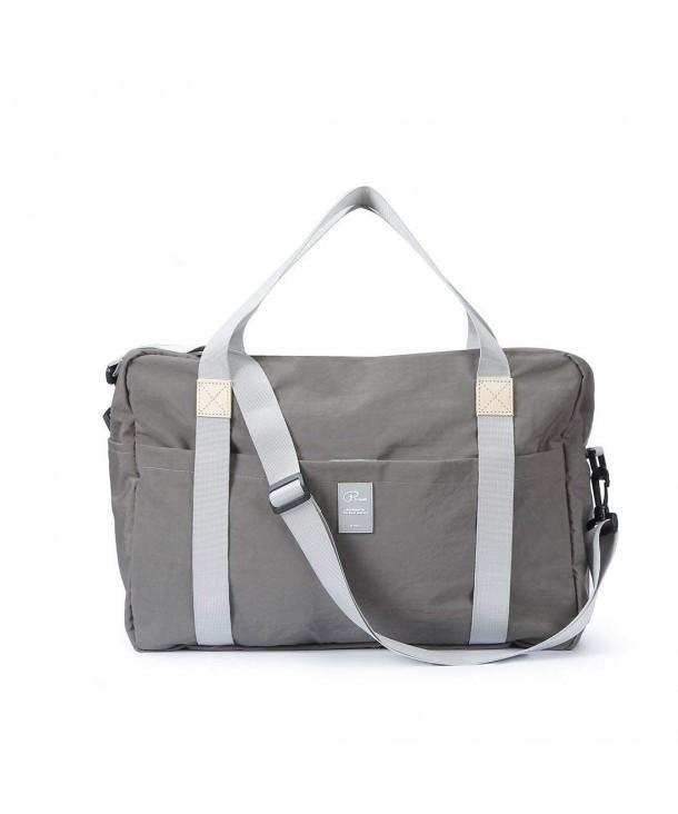 Foldable Duffle Bag - Ultra Lightweight Waterproof - Grey Duffel Bag ... 29a41cfe55ada