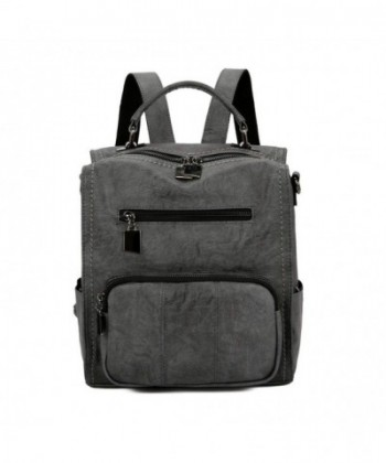 Backpack Leparvi Leather Handbag Capacity