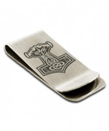 Stainless Mjolnir Hammer Viking Engraved