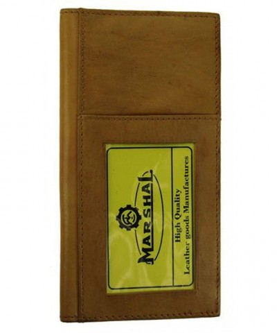 Genuine Leather Bifold Checkbook Covers