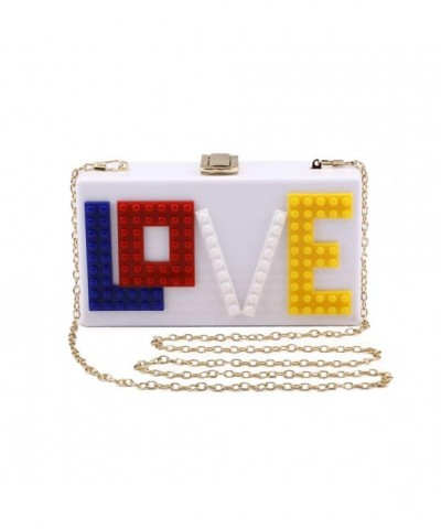 Onfashion Acrylic Evening Clutch Handbag