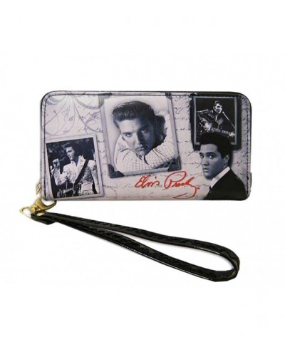 Elvis Presley Around Closure Wallet