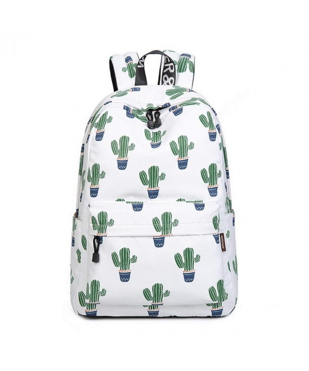 b6fc9d03faef Girls Fashion Printed Pattern Backpack Casual Student Backpack Fit 15.6