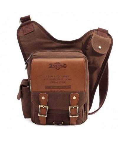 KAUKKO Shoulder Backpack Crossbody Messenger