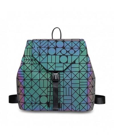 Geometric Backpack Luminous backpack Backpacks
