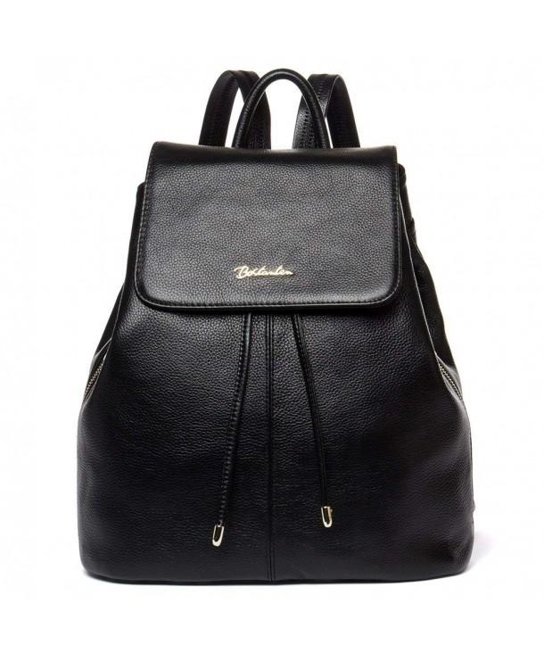 BOSTANTEN Vintage Leather Backpack Handbags