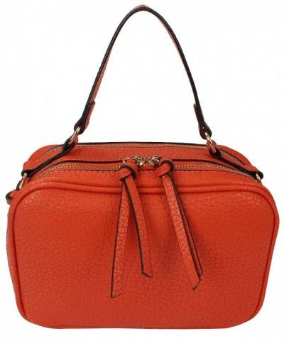 Womens Leather Compact Shoulder Handbag