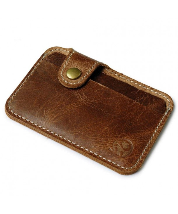 Slim Leather Wallet Credit Sleeve