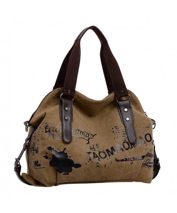568b96cb8a1a Bag Work Place New Canvas Bag ladies Handbag - S Khaki - CM11MO91XQR